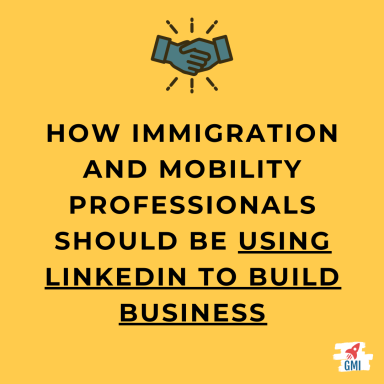 Using LinkedIn for immigration and global mobility