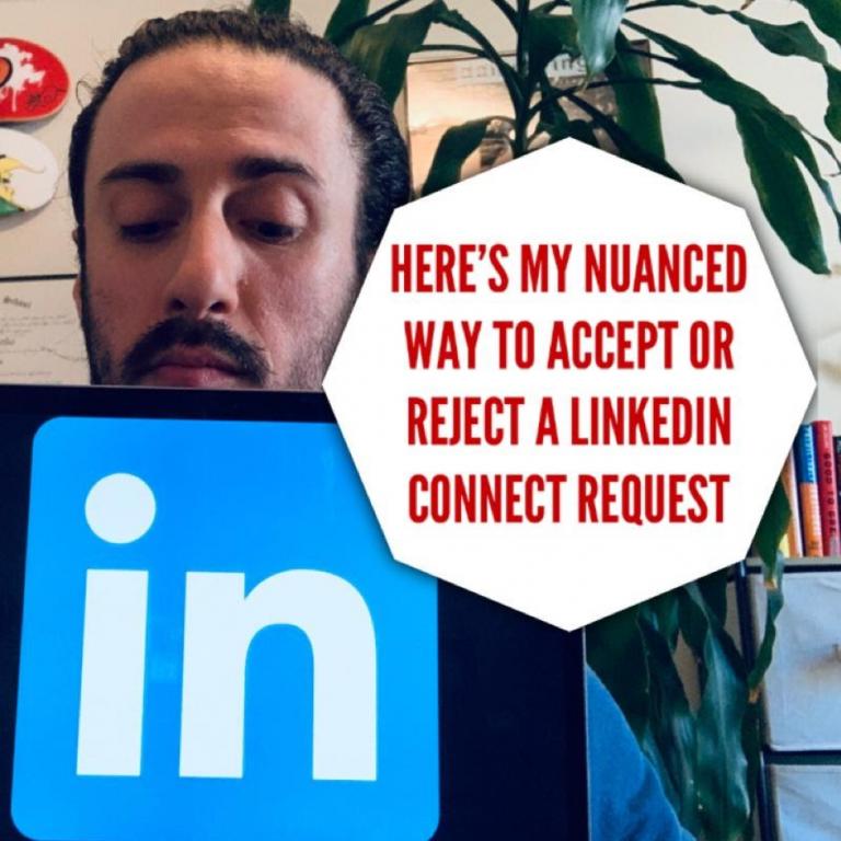Why I Deny LinkedIn Requests