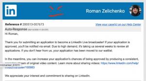 Going Live on LinkedIn